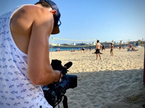 English-speaking-cameraman-Barcelona