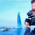 english speaking cameraman at Barcelona World Race, Spain