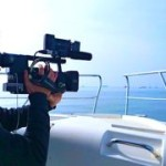 shooting as a videojournalist the Barcelona World Race for TV3
