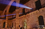 projection of corporate-video at dinner gala Barcelona