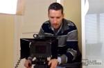 deutscher Kameramann dreht Interview in Barcelona