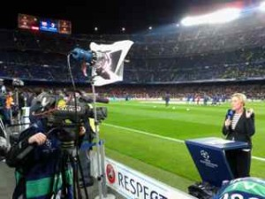 live interview football match barcelona
